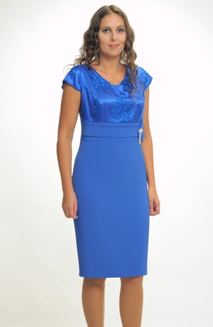 Dámský luxusní kostýmek pro svatební maminky ve velikostech 44, 46, 48....