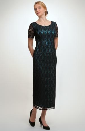 Luxusní dlouhé společenské šaty 2015 z krajky. Vel. 38, 40, 42, 44.....