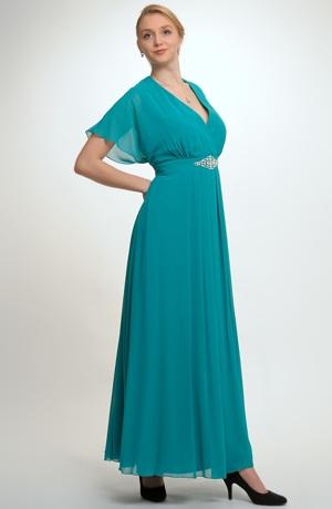 Luxusní model šatů ala antika velikost 56