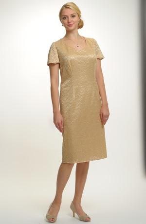 Pouzdrové společenské šaty