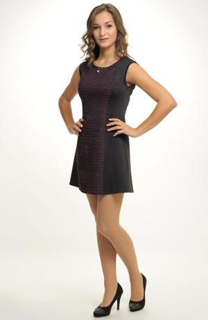 Mladistvá šatová sukně nebo pouzdrové šaty do práce