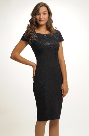 Velmi elegantní dámské černé pouzdrovky vel. 38, 40, 42, 44