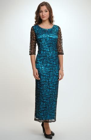Elegantní společenské a večerní krajkové šaty