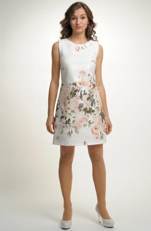 Exkluzivní dámské pouzdrové společenské šaty. Vel. 36, 38, 40, 42