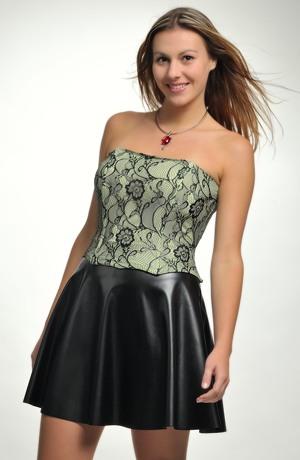 Kolová sukně mini vhodná do tanečních