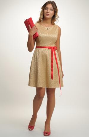 Luxusní dívčí společenské retro šaty na svatbu