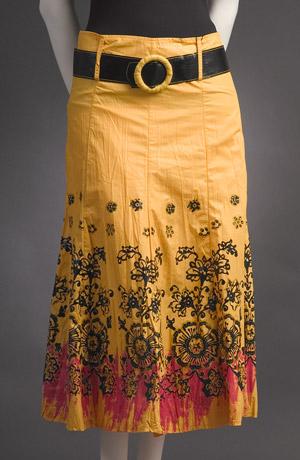 Letní sukně se potiskem- sleva