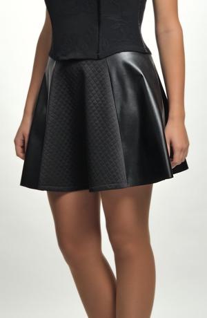 Kolová sukně mini vhodná do tanečních j
