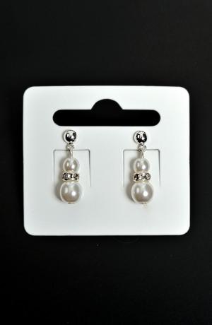 Náušnice svatební perličky