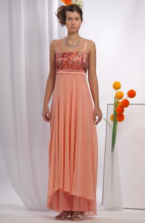 Krásné růžové svatební šaty