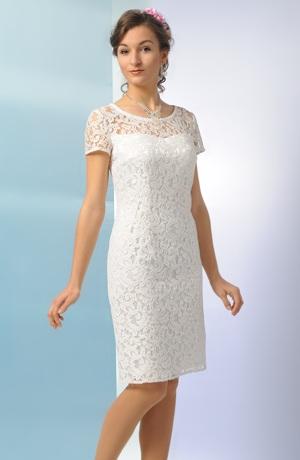 Elegantní šaty pro svědkyni