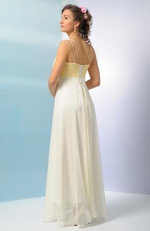 Luxusní svatební šaty se sedlem z bruselské krajky