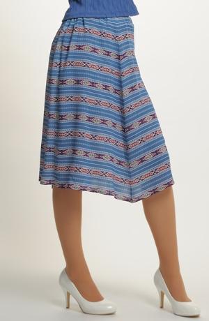 Boho sukně