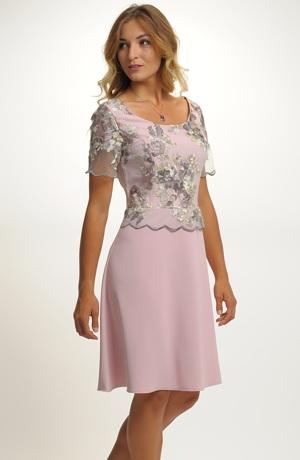 Elegantní společenské šaty