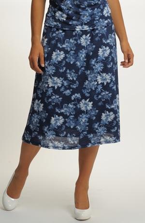 Dámská sukně i pro plnoštíhlé