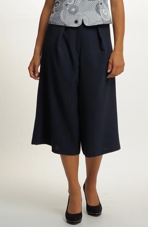 Volné capri kalhoty