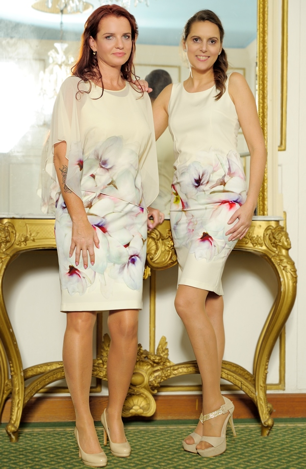 Luxusní společenský šatový outfit