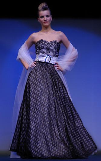 Luxusní společenské šaty Verino 2011