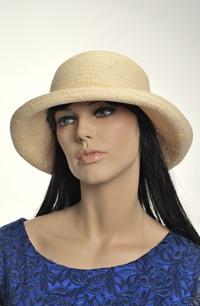 Dámský klobouk - 100% sláma,