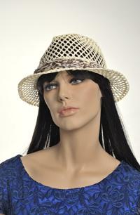 Letní klobouk v pánském stylu