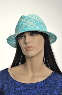 Dámský letní klobouk ala pánská klasika