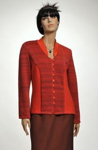 Pletený kabátek dámský