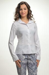 Elastická košilová halenka
