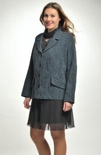Sako s plastickým vzorem