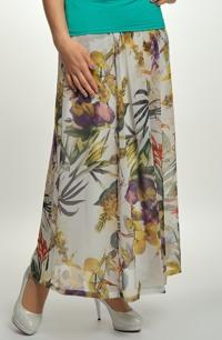 Šifónová sukně na léto