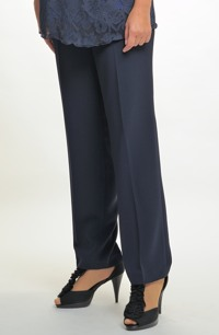 Kalhoty pro plnoštíhlé vhodné k tunice