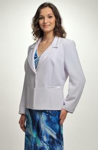 Dámské bílé sako - sleva