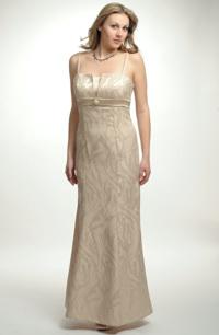 Jednoduché elegantní šaty tulipánového střihu