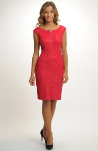 Dámské elegantní společenské koktejlové šaty