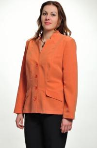 Elegantní dámské sako z hedvábí