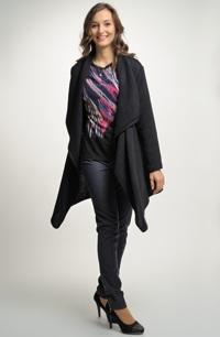 Dámský pletený svrchní svetřík -cardigan