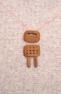 Náhrdelník dřevo