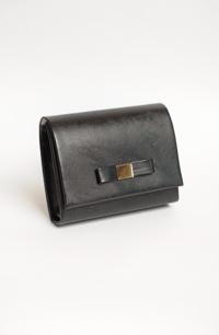Černá plesová kabelka