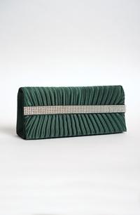 Psaníčko na ples, kabelka v módní zelené barvě