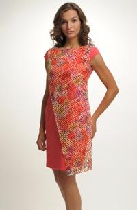 Šaty na léto se vzorem na síťce