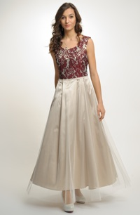Dlouhé plesové šaty