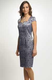 Luxusní společenské koktejlové šaty