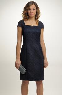 Elegantní dámské koktejlové šaty