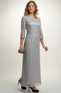 Luxusní dlouhé plesové šaty