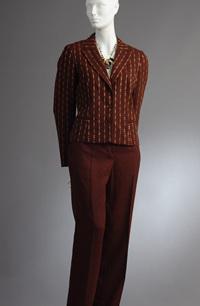 Dámský vlněný kostým - výprodej
