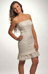 Elegantní šaty na převlečení na svatbu i do tanečních
