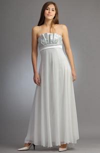 664f7f61b92 Svatební šaty s bohatou kolovou sukní z jemného šifónu