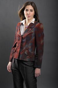 dámské sako s položenou fazónou, pro všechny velikosti.