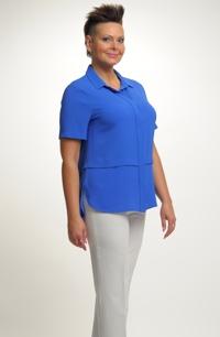 Dámská košile v královské modré