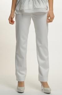 Dámské smetanové kalhoty