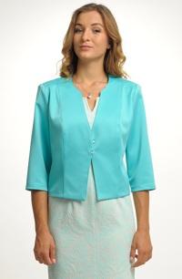 Kabátek k šatům - krátký